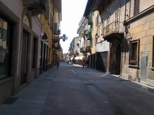 Bra, chiude per lavori un tratto di via Vittorio Emanuele