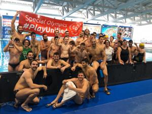 Il Settebello ha incontrato la nazionale Special Olympics allo Stadio del Nuoto di Cuneo