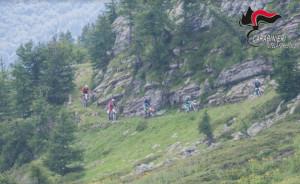 Con la moto da enduro sul sentiero della 'Cannoniera': multati per 1.500 euro