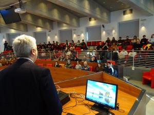 Borgna ha incontrato i 95 giovani al termine del servizio civile volontario 2019