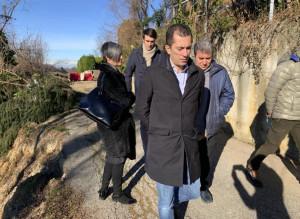 Danni alluvionali, l'Assessore regionale Gabusi in visita a Mondovì