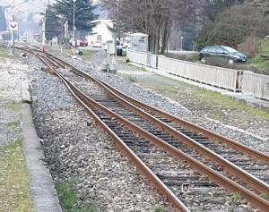 Nuova interruzione per la ferrovia Cuneo-Ventimiglia: cede il terreno sotto i binari nei pressi di Breil