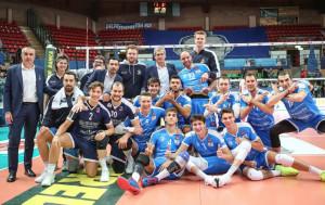 Pallavolo A3/M: Cuneo supera Trento al Pala UBI Banca