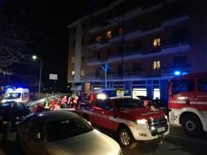 Incidente stradale a Costigliole Saluzzo, un'auto capovolta