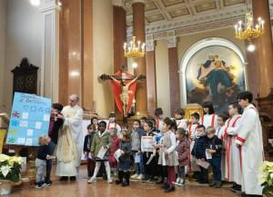 A Fontanelle la Messa 'animata' dai bambini della scuola materna