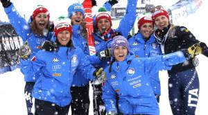 Marta Bassino e le altre azzurre dello sci alpino si allenano ad Artesina