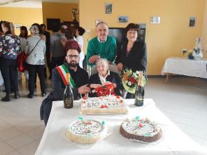 Chiusa Pesio ha festeggiato i cento anni di Domenica Baudino