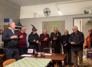 A Verzuolo una cerimonia per Giovanni Pettiti, per 25 volontario Ana Protezione Civile