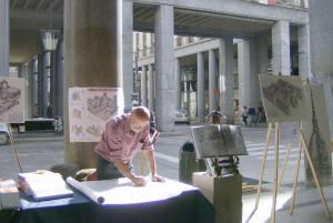 È morto l'artista Francesco Corni, disegnò la Granda che non c'è più
