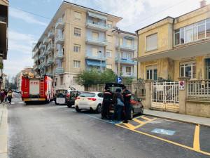 Cuneo, incidente all'incrocio tra via Luigi Gallo e via Massimo d'Azeglio