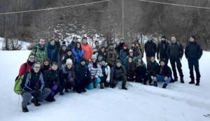Più di 30 partecipanti alla Giornata di Didattica universitaria sulle Tecniche di monitoraggio del lupo sulla neve
