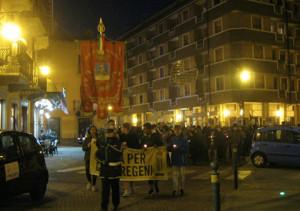 Borgo San Dalmazzo celebra il Giorno della Memoria con la Marcia dei Lumini