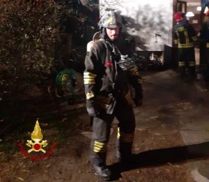 Timori per un incendio in abitazione a Barge, ma era solo il boiler