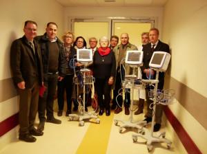 Sanità, l'associazione ASSO dona quattro monitor agli ospedali di Ceva e Mondovì