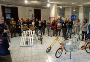 Grande successo della mostra 'Le bici di Gianpy' nella Sala Mostre della Provincia