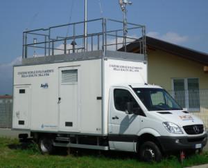 A Saluzzo il laboratorio mobile dell'Arpa per il monitoraggio della qualità dell'aria