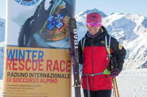 Katia Tomatis 'testimonial' per la Winter Rescue Race di Artesina