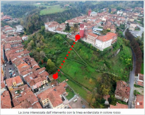 Consegnato lo studio di fattibilità per l'ascensore panoramico Dogliani Borgo-Castello