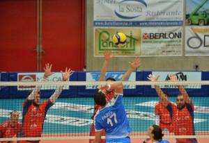 Pallavolo A3/M: Cuneo battuta 3-0 nella tana di Cisano