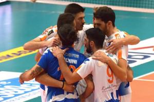 Pallavolo A2/M: dopo tre vittorie casalinghe di fila Mondovì cade contro Castellana Grotte