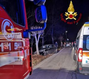 Benevello, cinghiale fa sbandare un'auto che si schianta contro un albero: grave una ragazza di 26 anni