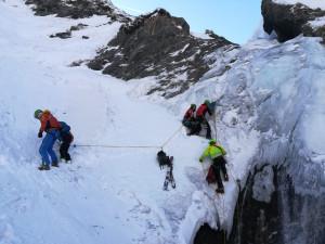 Bellino, il Soccorso Alpino salva un'escursionista francese in ipotermia
