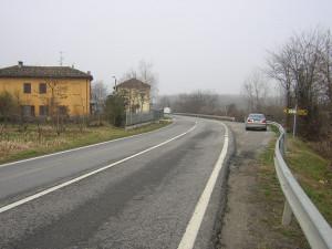 C'è il progetto di rettifica delle curve sulla provinciale 7 Roddi-Pollenzo in località Toetto