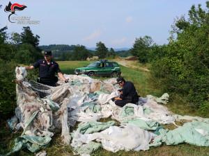Nel 2019 i Carabinieri Forestali cuneesi hanno denunciato 28 responsabili di incendi boschivi