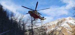 Grave incidente in quota, alpinista recuperato dopo una caduta da oltre 100 metri