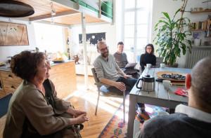 Proseguono le 'residenze d'artista' nel centro storico di Cuneo