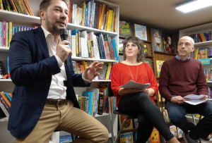Gian Maria Aliberti Gerbotto al Caffè Letterario di Bra: 'Contro il bullismo, fai rumore!'