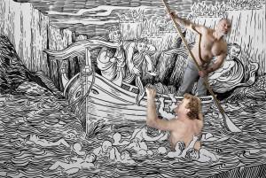 Alba: nella mostra 'Nel mezzo del cammin di nostra vita' la Divina Commedia vista dal carcere