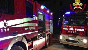 Boves, a fuoco un'auto e un furgone