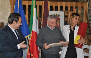 La Polizia di Frontiera di Limone saluta il sovrintendente Massimo Giraudo