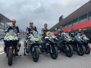 Motociclismo, test in Portogallo per i centauri della cuneese Black Racing Squadra Corse