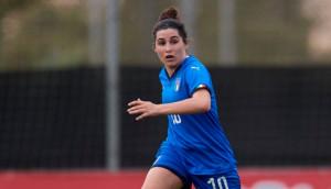 Calcio femminile, Marta Mascarello titolare nel 3-0 dell'Italia contro al Nuova Zelanda