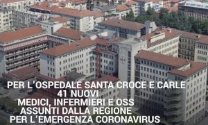 'Arrivano i rinforzi': 41 nuovi medici, infermieri e oss al Santa Croce di Cuneo