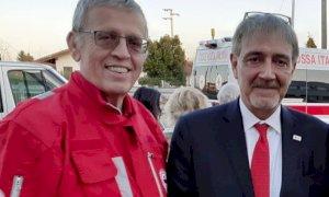 La Croce Rossa di Busca ringrazia una coppia di San Barnaba per una donazione da mille euro