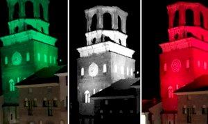 Il tricolore avvolge i monumenti simbolo del territorio: l'iniziativa di alcuni Comuni dell'albese