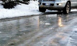 Maltempo: interventi di sgombero neve e antigelivi sulle strade oltre i mille metri