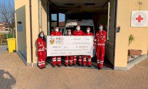 Dalla Pro loco di San Chiaffredo mille euro per la Croce Rossa di Busca