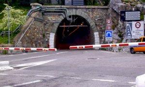 Chiusure del tunnel del colle di Tenda programmate tra il 14 e il 24 aprile