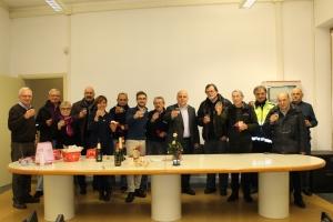 L'Amministrazione comunale ha ringraziato i volontari della Protezione civile