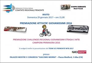 Premiazione attività giovanissimi 2016