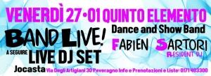 Quinto Elemento live band + DJ SET