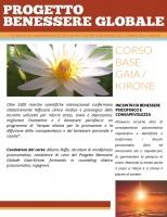 Progetto Benessere Globale Gaia-Kirone