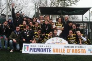 Il Cavallermaggiore ha vinto la Coppa Piemonte di serie C di calcio femminile