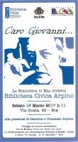 Bra intitola la biblioteca civica a Giovanni Arpino