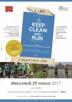 """Il libro """"Keep Clean and Run"""" si presenta ad Alba"""
