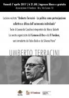 Bra, lezione-spettacolo su Umberto Terracini